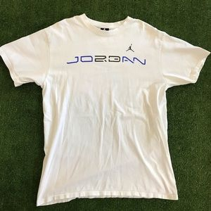 Air Jordan Jumpman 23 White Nike Shirt. Men's L